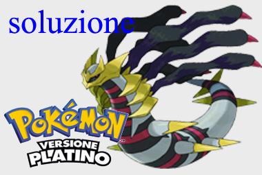soluzione Pokemon platino
