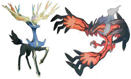 Xerneas Yveltal officiale